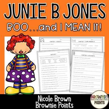 Junie B. Jones - Boo And I Mean It