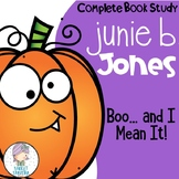 Junie B Jones Boo and I Mean It Guided Reading Unit