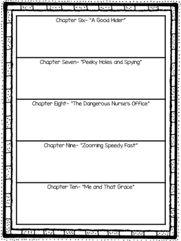 Junie B. Jones Book Outlines and Graphic Organizers