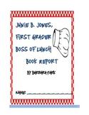 Junie B. Jones Book Report CCCS Aligned