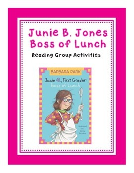 Junie B. Jones Boss of Lunch