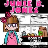 Junie B. Jones Boss of Lunch