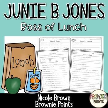 Junie B. Jones - Boss of Lunch