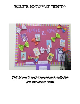 Junie B. Jones Bulletin Board