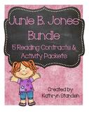 Junie B. Jones Bundle (5 Reading Contracts & Activity Packets)