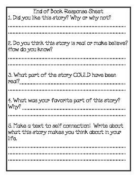Junie B. Jones, First Grader At Last Comprehension Packet