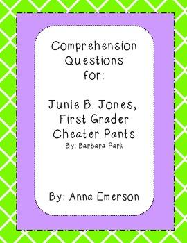 Junie B. Jones, First Grader Cheater Pants