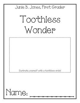 Junie B. Jones, First Grader, Toothless Wonder, Comprehension Packet