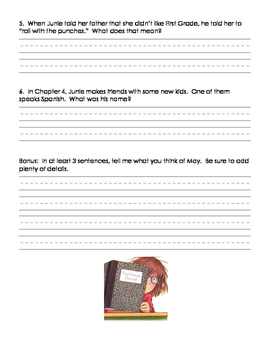 Junie B. Jones First Grader (at Last) Packet