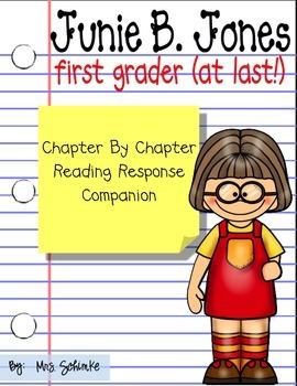 Junie B. Jones First Grader (at last!) Book Companion