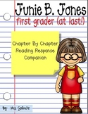 Junie B. Jones First Grader (at last!) Book Companion