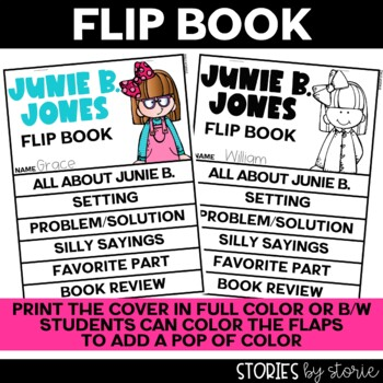 Junie B. Jones Flip Book and Two Craft Response Booklets