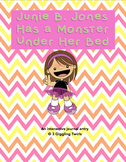 Junie B. Jones Has A Monster Under Her Bed Interactive Notebook