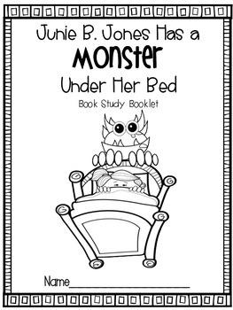Junie B. Jones Has a Monster Under Her Bed {Literacy Companion Pack}