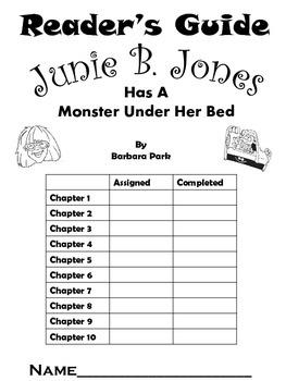 Junie B Jones Has a Monster Under Her Bed Reader's Guide