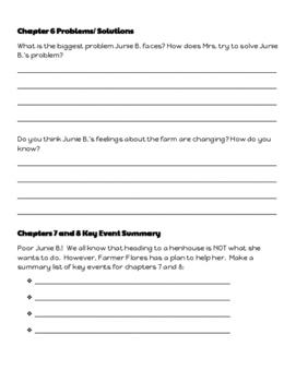 Junie B.Jones Has a Peep in Her Pocket: Let's Read! (Reading Response Pk. GR M)