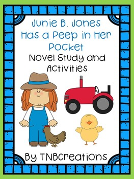Junie B. Jones Has a Peep in Her Pocket Novel Study