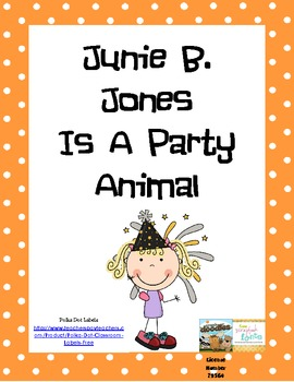 Junie B. Jones Is A Party Animal Activity Set