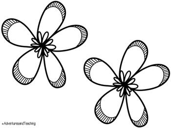 Junie B. Jones Is (Almost) A Flower Girl Craftivity