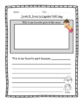 Junie B. Jones Is Captain Field Day - Literature Guide
