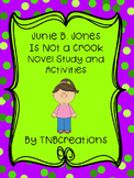 Junie B. Jones Is Not a Crook Novel Study