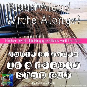 Junie B. Jones Is a Beauty Shop Guy Read Aloud Write Along Book Study