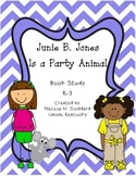 Junie B. Jones Is a Party Animal Book Study