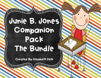 Junie B. Jones Literacy Companion Packs {THE BUNDLE!}