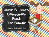 Junie B. Jones Literacy Companion Packs {THE BUNDLE!}
