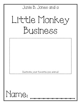 Junie B. Jones Little Monkey Business Comprehension Packet
