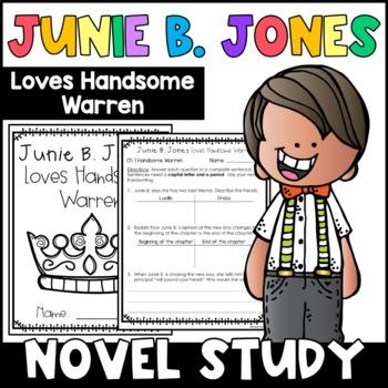 Junie B. Jones Loves Handsome Warren: Complete Unit of Reading Responses