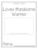 Junie B. Jones Loves Handsome Warren Comprehension Packet