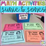 Junie B. Jones Math Booklets