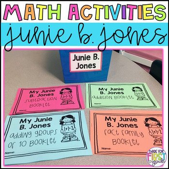 Junie B. Jones Word Problem Booklets: Addition, Subtraction, Fact Families