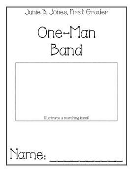 Junie B. Jones One Man Band Comprehension Packet