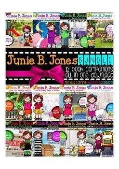 Junie B. Jones Reading Companions - the BUNDLE #1
