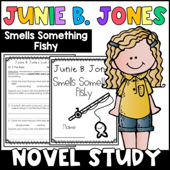 Junie B. Jones Smells Something Fishy: Complete Unit of Reading Responses