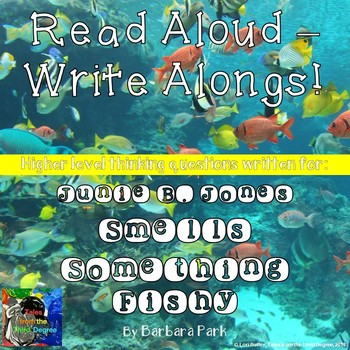 Junie B. Jones Smells Something Fishy Read Aloud Write Along Book Study
