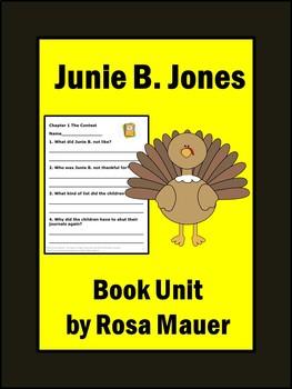 Turkeys We Have Loved and Eaten Junie B. Jones Thanksgiving Book Questions