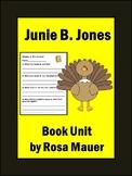 Turkeys We Have Loved and Eaten Junie B. Jones Thanksgivin