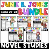 Junie B. Jones The BUNDLE: Reading Responses for Junie B. Books 24-28