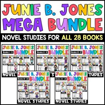 Junie B. Jones MEGA BUNDLE: Reading Response Sets for ALL 28 Junie B. Books!