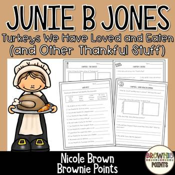 Junie B. Jones - Turkeys We Have Loved and Eaten (and Other Thankful Stuff)