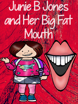 Junie B Jones and Her Big Fat Mouth - Book Packet