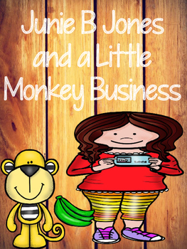 Junie B Jones and a Little Monkey Business - Book Packet
