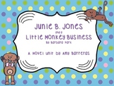 Junie B. Jones and a Little Monkey Business Novel Unit!