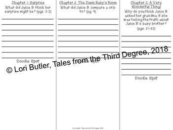 Junie B. Jones and a Little Monkey Business Read Aloud Write Along Book Study