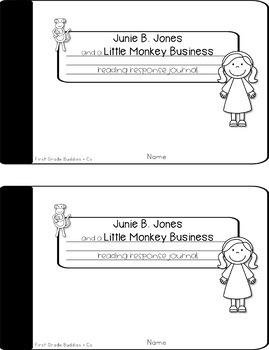 Junie B. Jones | Monkey Business | Reading Comprehension | Book Companion