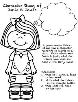 Junie B. Jones and a Little Monkey Business Response Journal