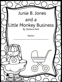 Junie B. Jones and a Little Monkey Business Response Notebook